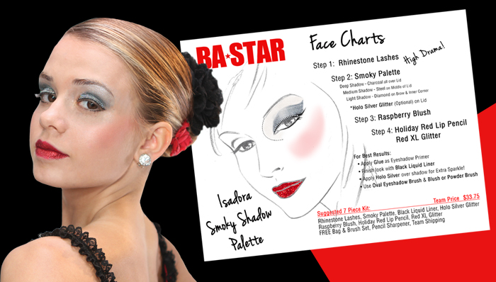 isadora%20smoky%20w%20face%20chart REVIEW: BA STAR Stardust + FREE samples!