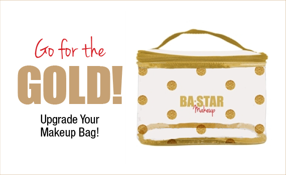 Go For The Gold! Upgrade Your Makeup Bag!