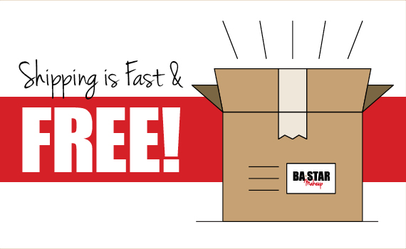 Shipping is Fast & Free!