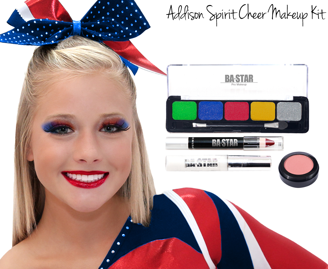 Addison kitg taylor emeral glitter cheer makeup kit addison spirit cheer makeup kit baditri Image collections