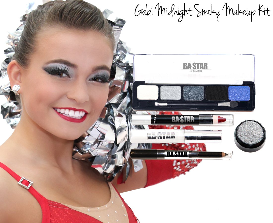 Gabi kitg cheer makeup kit gabi midnight smoky makeup kit baditri Image collections