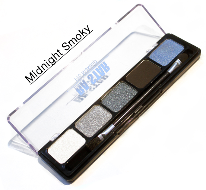 Midnight Smoky Eye Shadow Palette